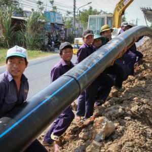Thi công ống cấp nước